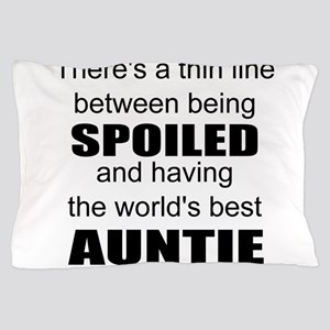 Funny auntie Pillow Case