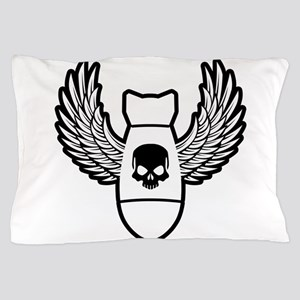 Winged bomb Pillow Case