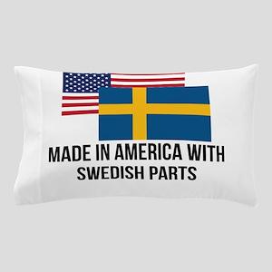 Swedish Parts Pillow Case