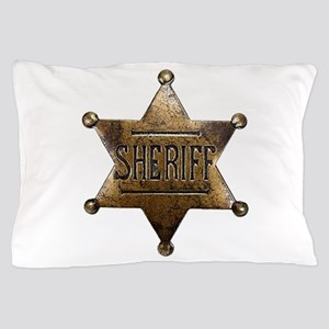 Sheriff Badge Pillow Case