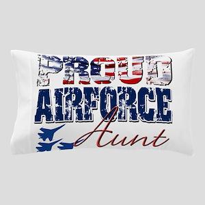 ProudAirForceAunt Pillow Case