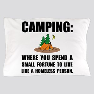 Camping Homeless Pillow Case