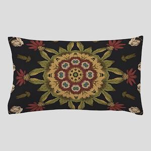 hipster vintage floral mandala Pillow Case