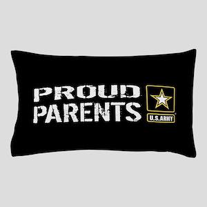 U.S. Army: Proud Parents (Black) Pillow Case