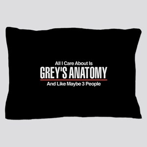 Grey's Care About Maybe 3 People Pillow Case