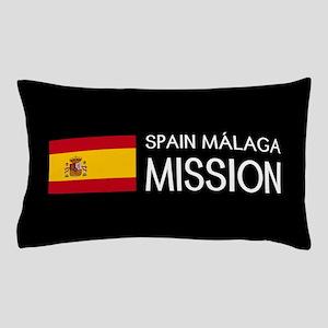 Spain, Málaga Mission (Flag) Pillow Case