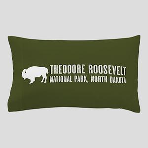Bison: Theodore Roosevelt, North Dakot Pillow Case
