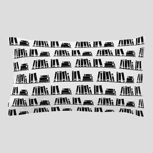 Book Lover Librarian Pattern Pillow Case