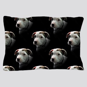 Pit Bull T-Bone Puppy Pillow Case
