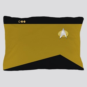 Star Trek: TNG Gold Lt. Cmdr. Pillow Case