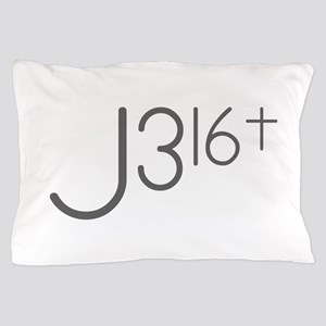 J316Typo Pillow Case