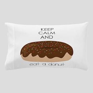 Eat A Donut Pillow Case