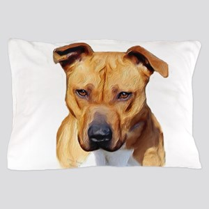 Pitbull Pillow Case