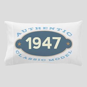 1947 Birth Year Birthday Pillow Case