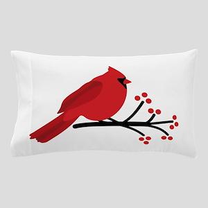 Christmas Cardinals Pillow Case