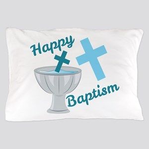 Happy Baptism Pillow Case