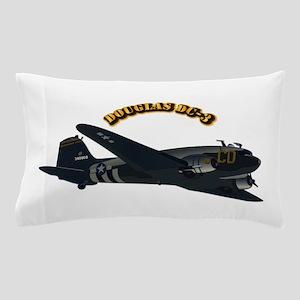 Douglas DC-3 With Text Pillow Case