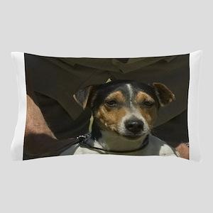 parson russell terrier Pillow Case