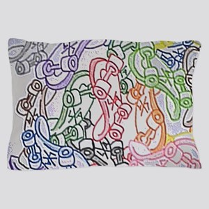 LAX skateboards by bjork all over mens Pillow Case