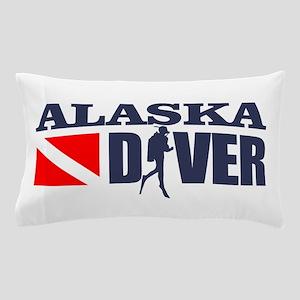 Alaska Diver Pillow Case