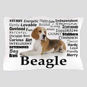 Beagle Traits Pillow Case