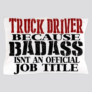 Badass Trucker Pillow Case