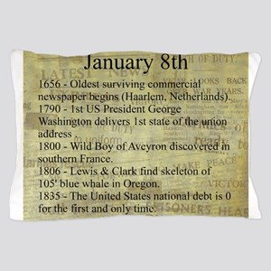 January 8th Pillow Case