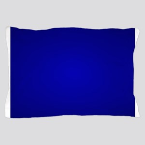 Minimal Art Dark Blue Pillow Case