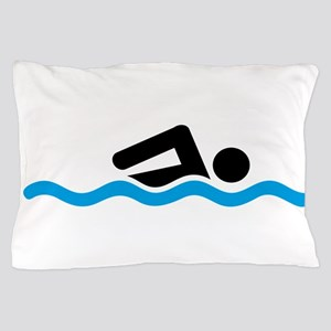 swimming Pillow Case