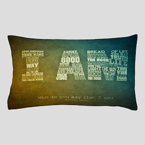 I AM Word Art Pillow Case