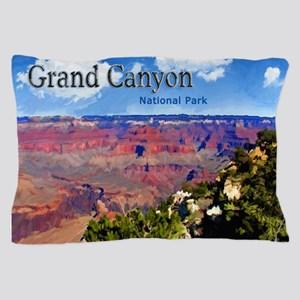 Grand Canyon NAtional Park Poster Pillow Case