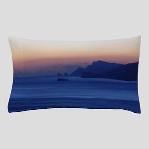Capri Coast from Positano Italy Pillow Case