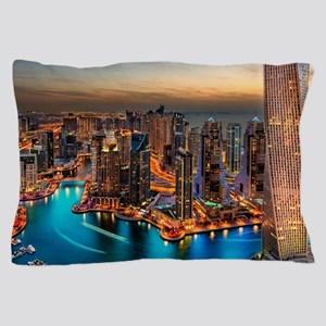 Dubai Skyline Pillow Case