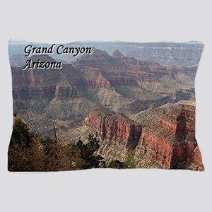 Grand Canyon, Arizona 2 (with caption) Pillow Case