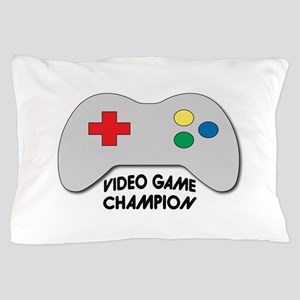 Video Game Champion Pillow Case
