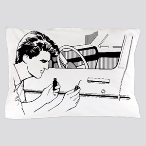 Auto Body Worker Pillow Case