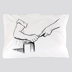 Champering against the grain Pillow Case