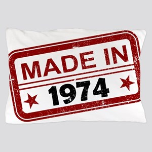 Stamped Made In 1974 Pillow Case