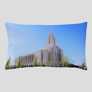 LDS Oquirrh Mountain Temple Pillow Case