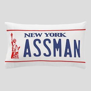 Assman License Plate Pillow Case
