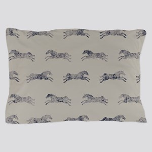Classic Horse Pattern Pillow Case
