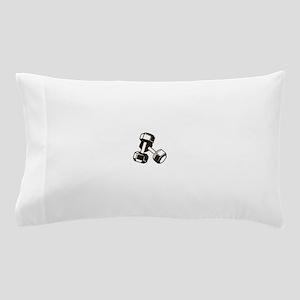 Fitness Dumbbells Pillow Case