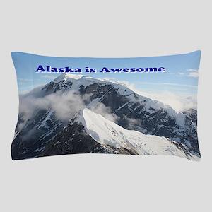 Alaska is awesome: Alaska Range, USA Pillow Case