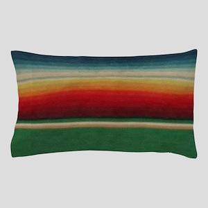 Vintage Green Mexican Serape Pillow Case