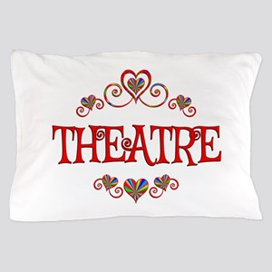 Theatre Hearts Pillow Case