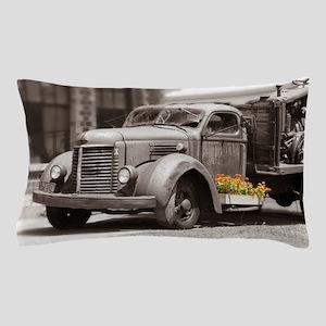 Vintage Old Truck Color Splash Pillow Case