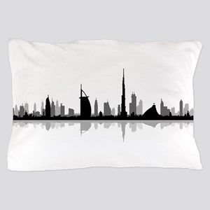Dubai Skyline Cityscape Pillow Case