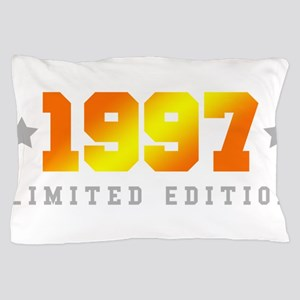 Limited Edition 1997 Birthday Shirt Pillow Case