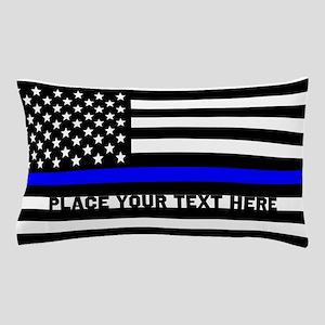 Thin Blue Line Flag Pillow Case