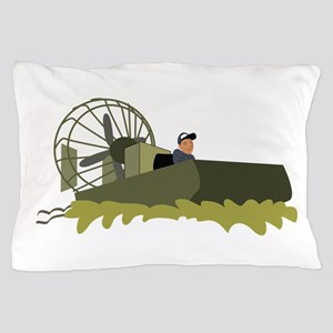 Bayou Airboat Pillow Case